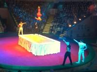 2018 06 27 Minsk Zirkusvorstellung tolle Akrobaten