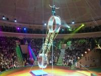 2018 06 27 Minsk Zirkusvorstellung wunderbare Akrobaten