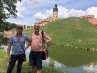 2018 06 27 Schloss Nieswiez mit Tourguide Vladimir