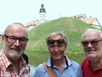 2018 06 27 Schloss Nieswiez unsere Gruppe