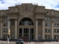 2018 06 25 Minsk Imposantes Zentrales Postgebäude