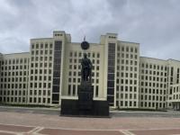 2018 06 25 Minsk Unabhängigkeitsplatz mit Lenin Denkmal
