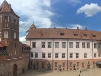 2018 06 27 Schloss Mir Innenhof von oben
