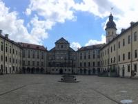 2018 06 27 Schloss Nieswiez Innenhof