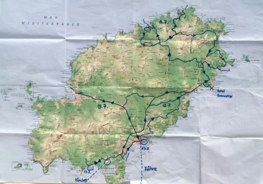 2018 07 12 0 Routenplan Ibiza