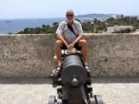 2018 07 13 Ibiza Festung mit Kanone