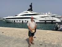 2018 07 13 Ibiza Hafen mit kleinen Yachten