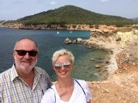 2018 07 13 Ibiza Sa Caleta wunderschöne Bucht