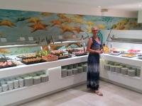 2018 07 15 Hotel Iberostar grosses Abendbuffet
