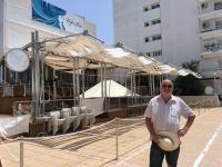 2018 07 15 Sant Antoni geschlossenes Cafe del Mar
