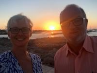 2018 07 16 Es Pujols Sonnenuntergang im Hotel Rocabella
