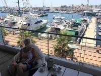 2018 07 17 Formentera La Savina Hafen Radlpause