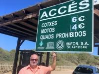 2018 07 17 Unesco Spanien Ibiza Biologische Vielfalt und Kultur Tafel