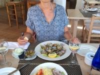 2018 07 18 Mittagessen am Strand Es Calo d es Mort
