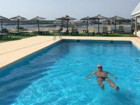 2018 07 19 Letztes Baden auf Formentera im Pool