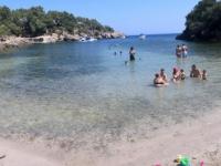 2018 07 14 Strand von Cala Mastella wo wir baden