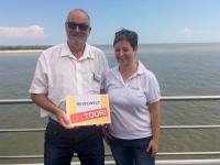 2018 07 29 Donau_Kilometer 0 mit Reiseweltteam