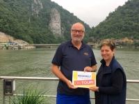2018 07 31  Eisernes Tor mit Steingesicht Zebalus Reisewelt on Tour