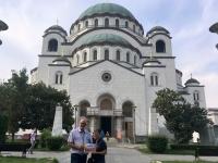 2018 08 01 Belgrad Kirche Hl Sava 2