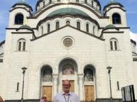 2018 08 01 Belgrad Kirche Hl Sava 3