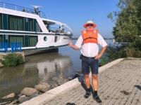 2018 07 29 Donaudeltafahrt Abmarsch mit der Schwimmweste