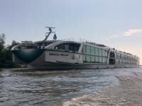 2018 07 29 Donaudeltafahrt MS Amadeus Brilliant in voller Länge