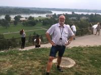 2018 08 01 Belgrad Blick auf den Zusammenfluss Save und Donau