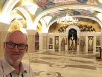 2018 08 01 Belgrad Kirche Hl Sava Krypta im Keller