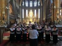2018 08 03 Budapest  Chorkonzert in der Matthiaskirche