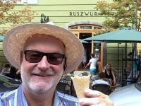 2018 08 03 Budapest Eis im Cafe Ruszwurm