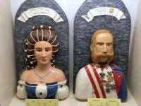 2018 08 04 Szentendre Szamos Marzipanmuseum Sissi und Franz