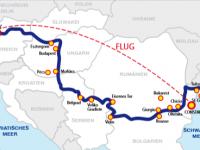 Route Flusskreuzfahrt Donau 2018