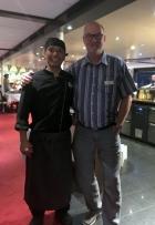 Indonesischer Küchenchef Joko Ribut