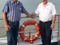 2018 07 28 Kapitän der MS Amadeus Brilliant Cokov Svetlozar Georgiev
