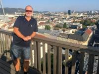 Herrlicher Blick über Linz