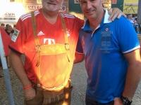 Schicklgruber Josef Pepi Spieler beim Legendenspiel nachmittags