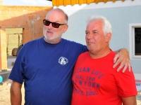 Pause 3 in Rödham mit Schnaps bei Schulkollegen Kurt Strasser