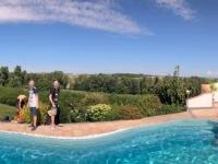 Pool im Garten Pintscher