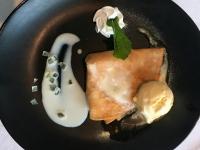 Dessert Crepes Suzette a l´orange