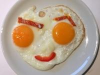 Frühstücks Spiegeleier