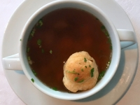 Suppe Ochsenschwanz Consomme