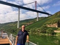2018 08 21 Die neue Autobahnbrücke über die Mosel ist fast fertig