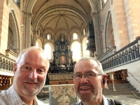 2018 08 22 Dom in Trier mit Josef