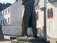 2018 08 22 Trier Denkmal Karl Marx von China gespendet