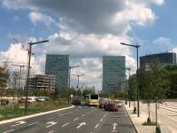 2018 08 23 Luxemburg Kirchberg mit EU Gebäude