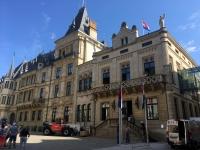 2018 08 23 Luxemburg Palast vom Großherzog