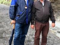 2018 08 25 Cochem Reichsburg Reiseleiter Roland aus Holland