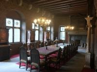2018 08 25 Cochem Reichsburg Speisezimmer