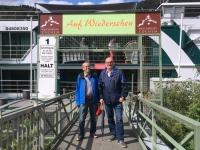 2018 08 25 Cochem  Wieder zurück am Schiff mit Josef