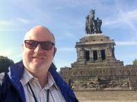2018 08 26 Koblenz Deutsches Eck mit Kaiser Wilhelm Denkmal